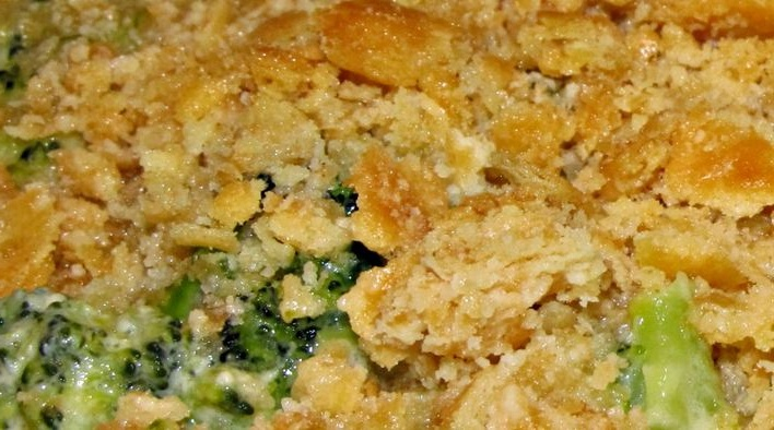 Delicious broccoli casserole