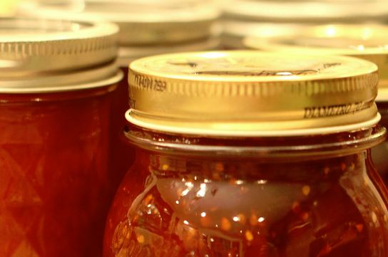 Home canned tomato preservers
