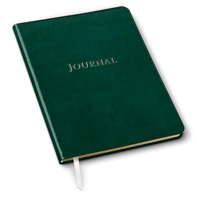 An old green journal