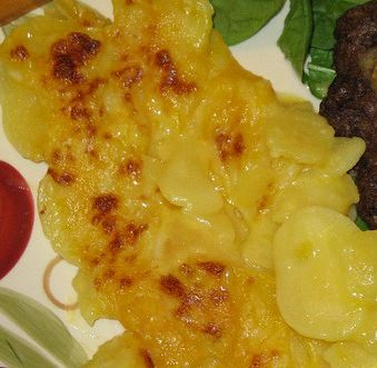 Delicious scalloped potatoes
