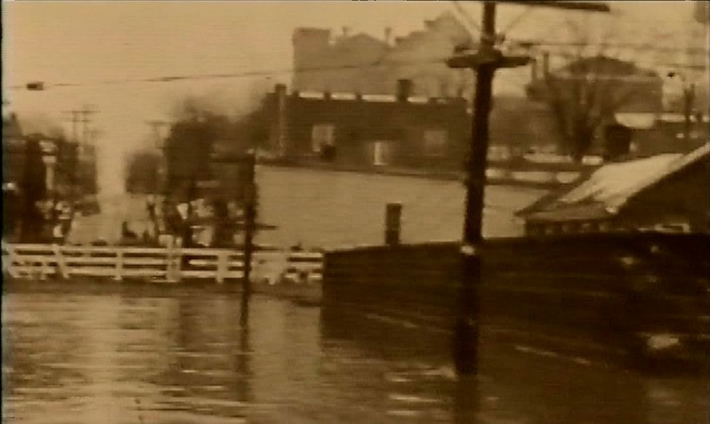 Old Eddyville Flood of 1937