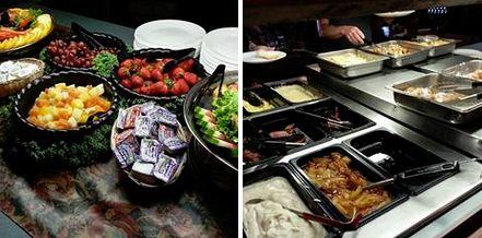 The Parlor breakfast buffet bar