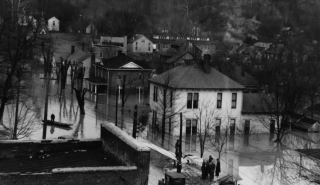 1937 flood hits Lyon County Ky