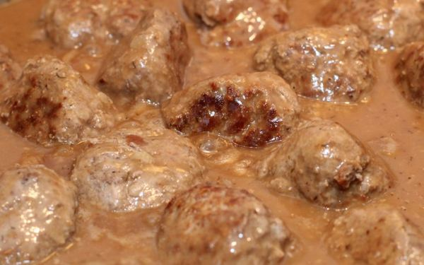Swedish Meatballs Happy New Year