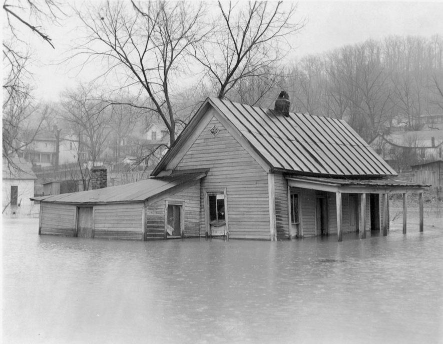 flooded Kuttawa February 1939