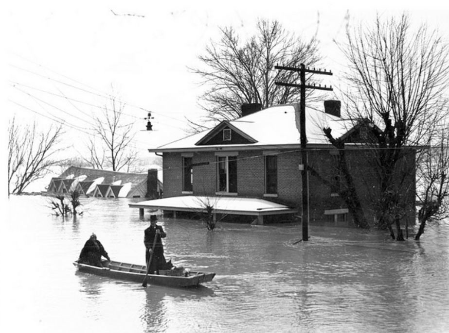 1937 Flood Old Eddyville
