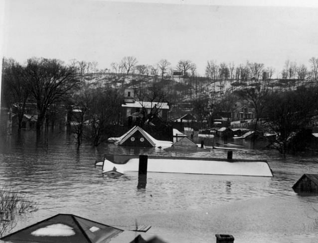 1937 flood Eddyville Ky 1-25-37