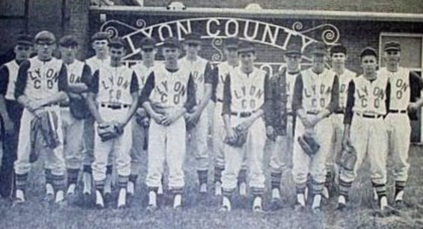 Lyon Group Photos - 69-70 Lyons Baseball Team