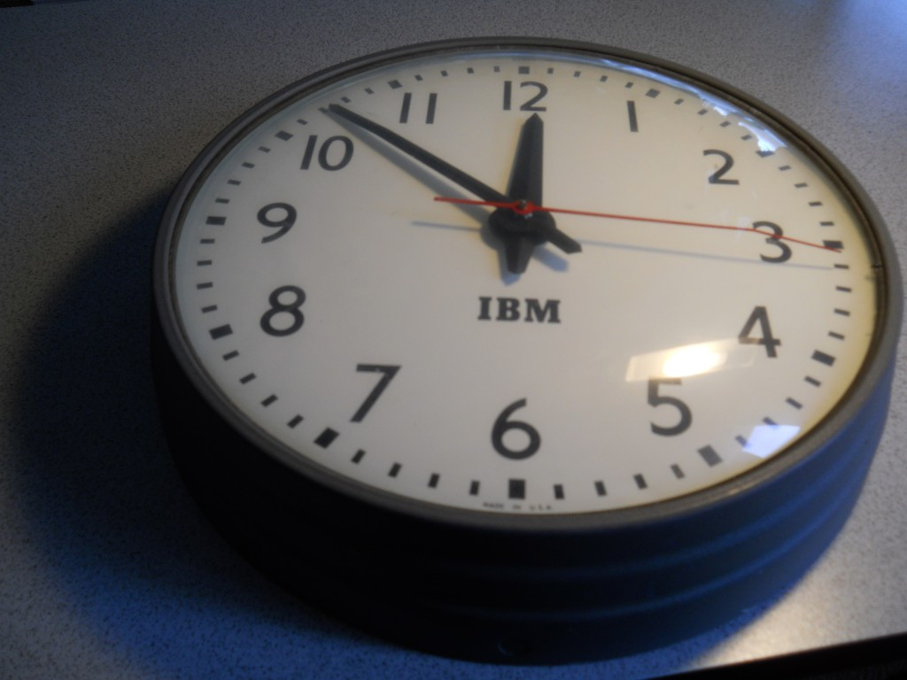 IBM Slave Clock from Side
