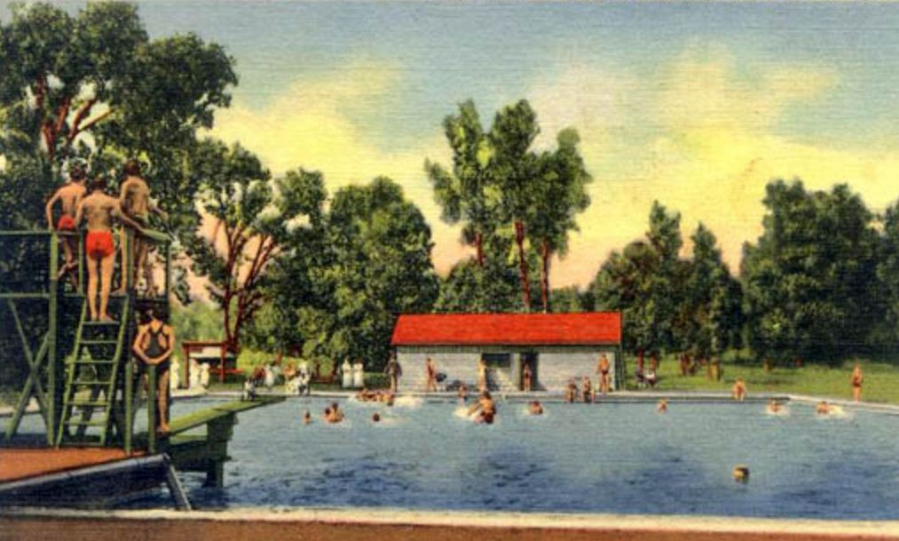 Kuttawa Mineral Springs Swimming Pool