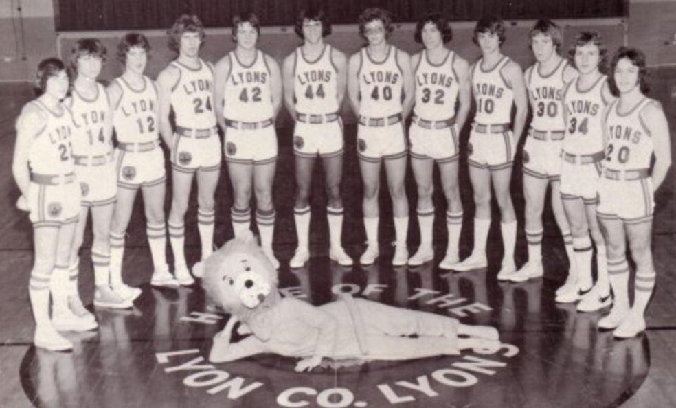 Lyon County Lyons 1975-1976