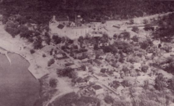Long Gone Lyon County - another aerial view of old Eddyville