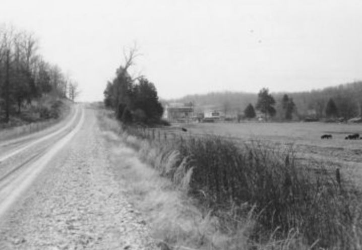 typical road between the rivers - Willow Creek area