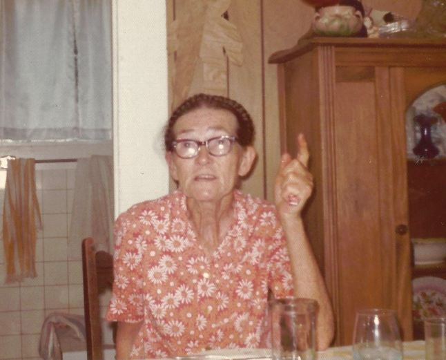 Life with Grandma Gola Kingston - Grandma in the mid-1970's