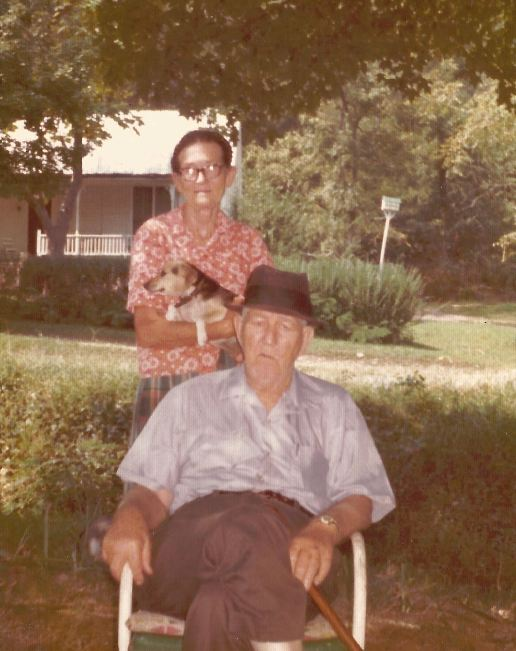 Life with Grandma Gola Kingston - Grandma with Grandpa John - Mid 1970's