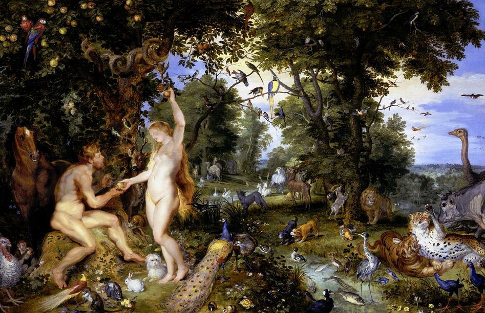 The Garden of Eden by Jan Breughel and Peter Paul Rubens