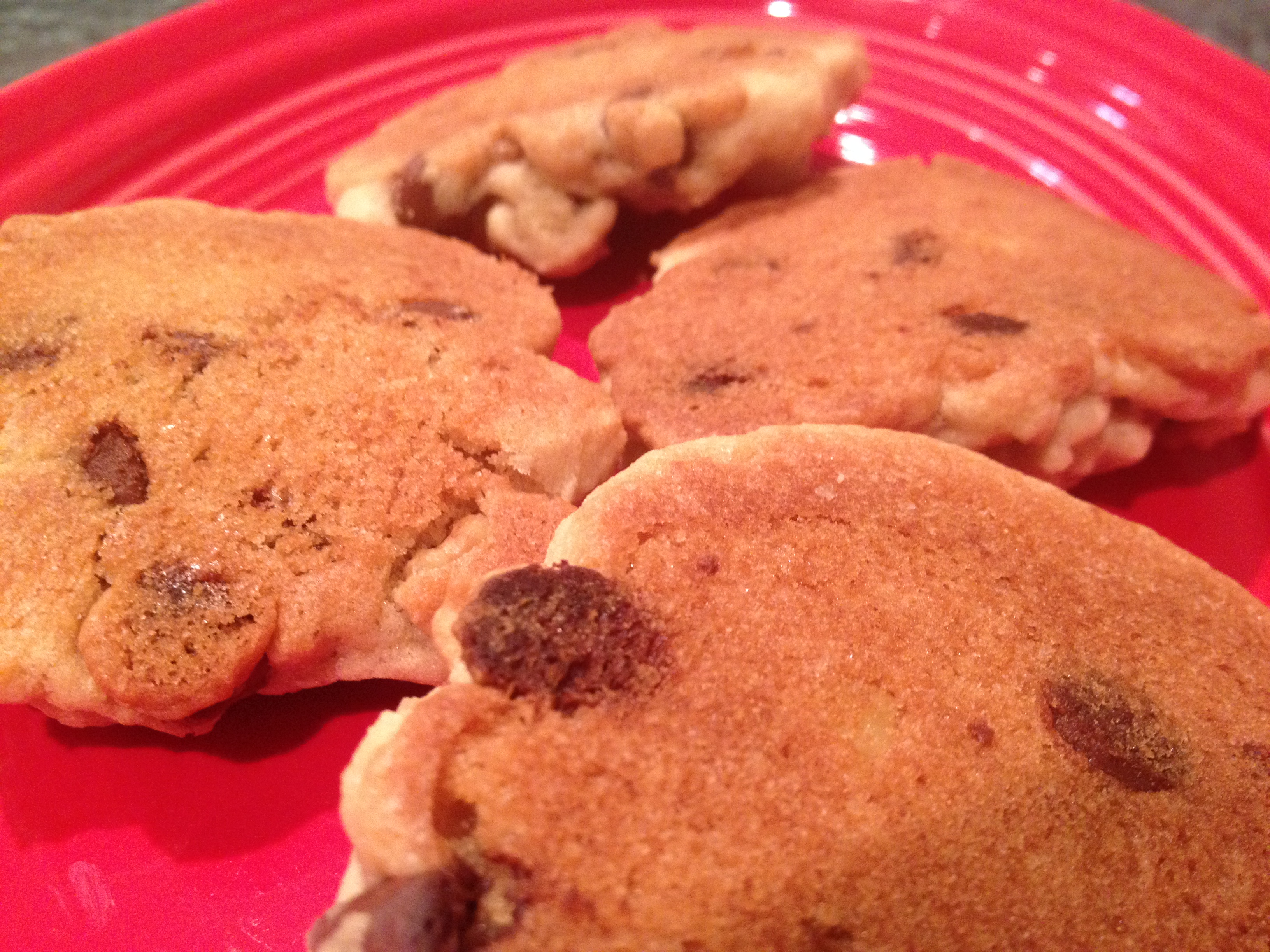 Best homemade chocolate chip cookie