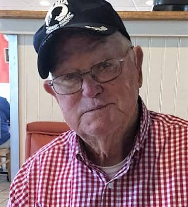 Dad wears his POW-MIA cap often