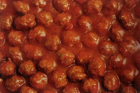 Happy New Year Party Meatballs