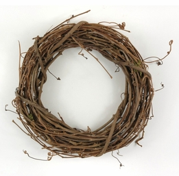 make a homemade grapevine wreath too